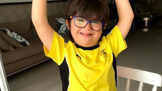 Situações cotidianas como as terapias presenciais e festas de aniversário fazem falta para o pequeno Mateus Ferraz