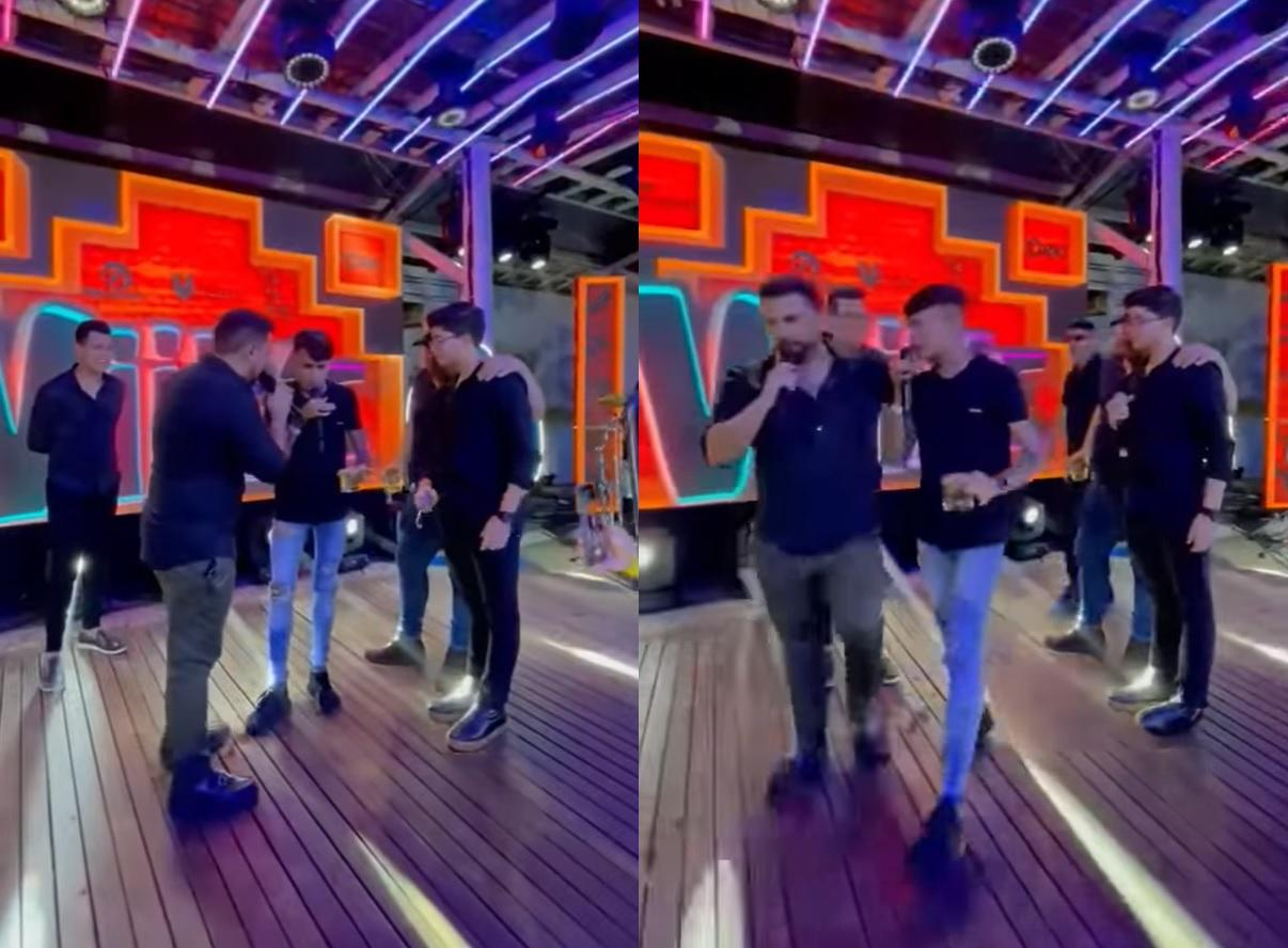 Xand Avião e Zé Vaqueiro estavam no palco de pocket show durante ocorrido