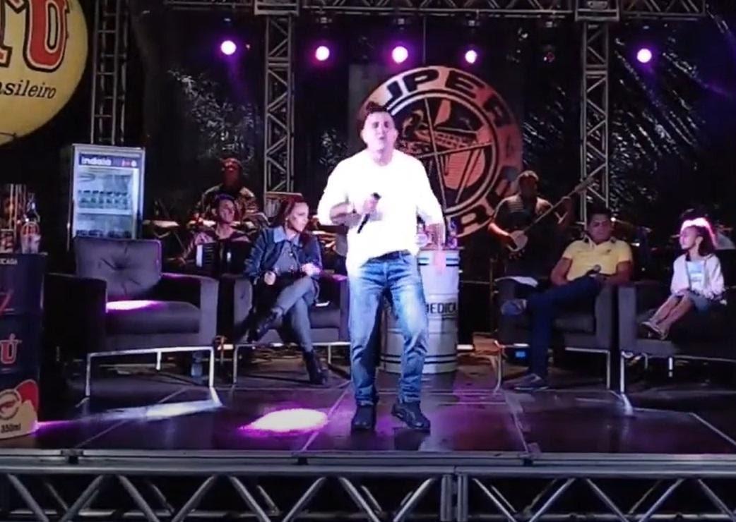 Em agosto do ano passado, cantor participou de live com outros ex-integrantes da Nnoda de Caju